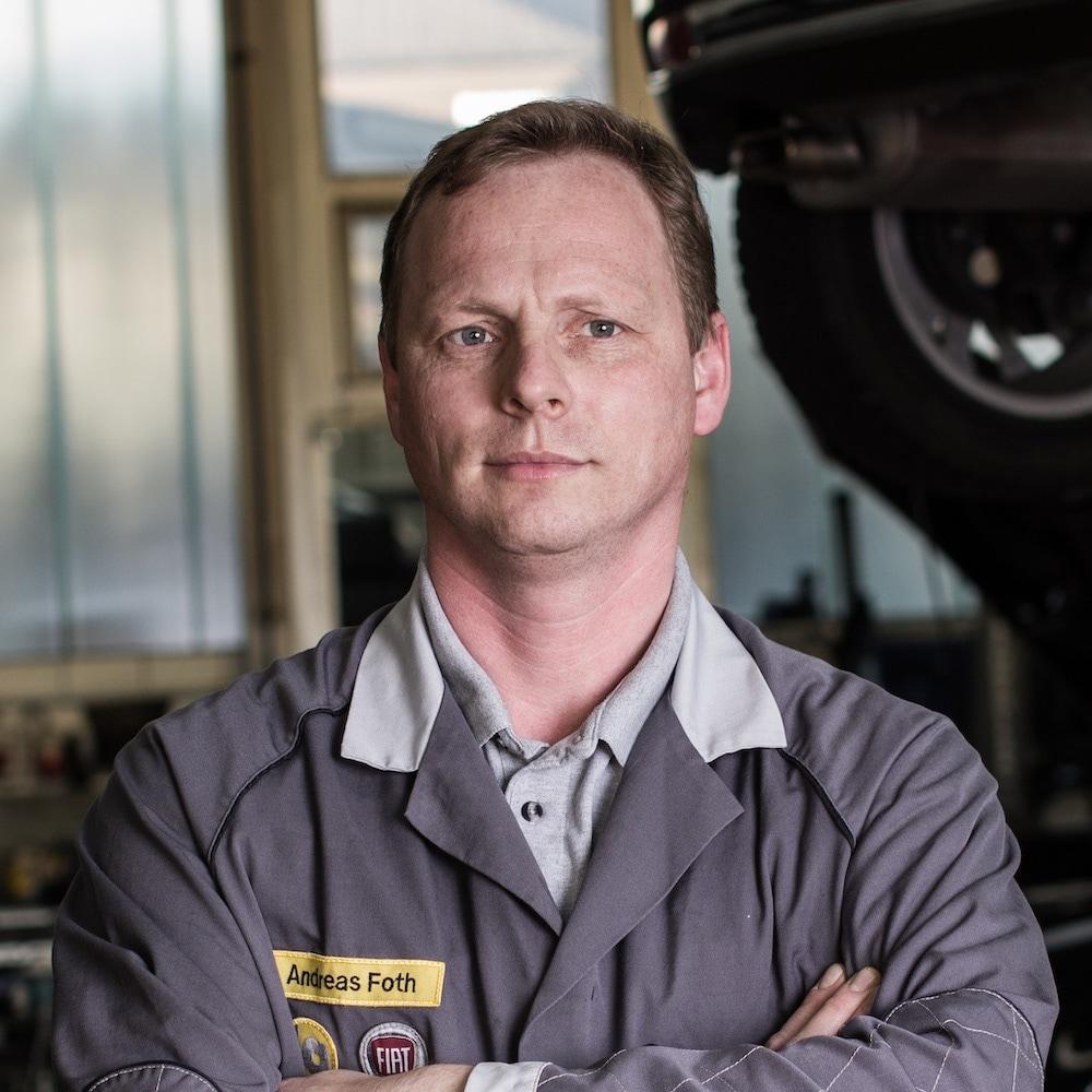 Autohaus Ahlers Andreas Foth Portrait