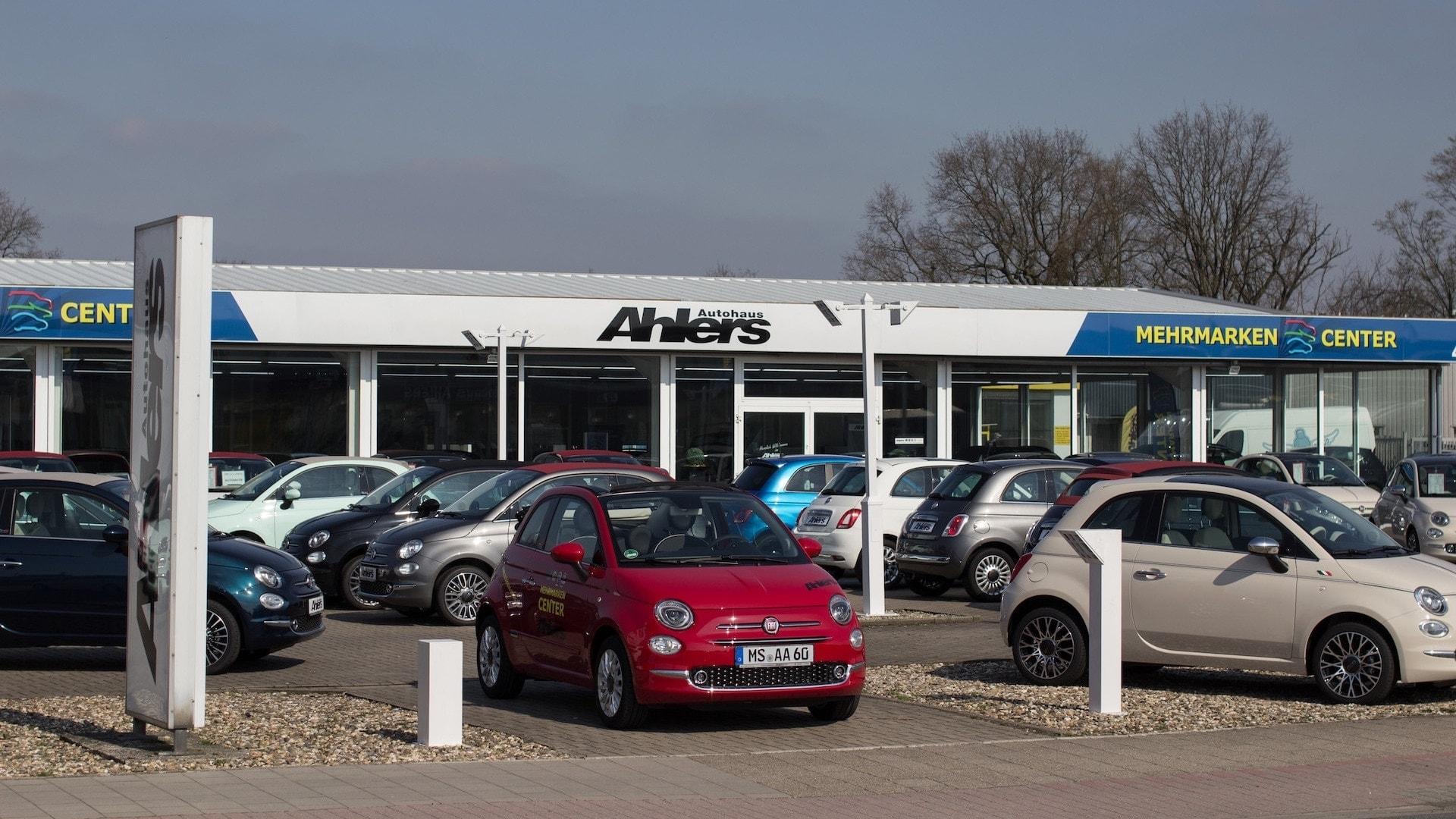 Autohaus Ahlers Aussenansicht