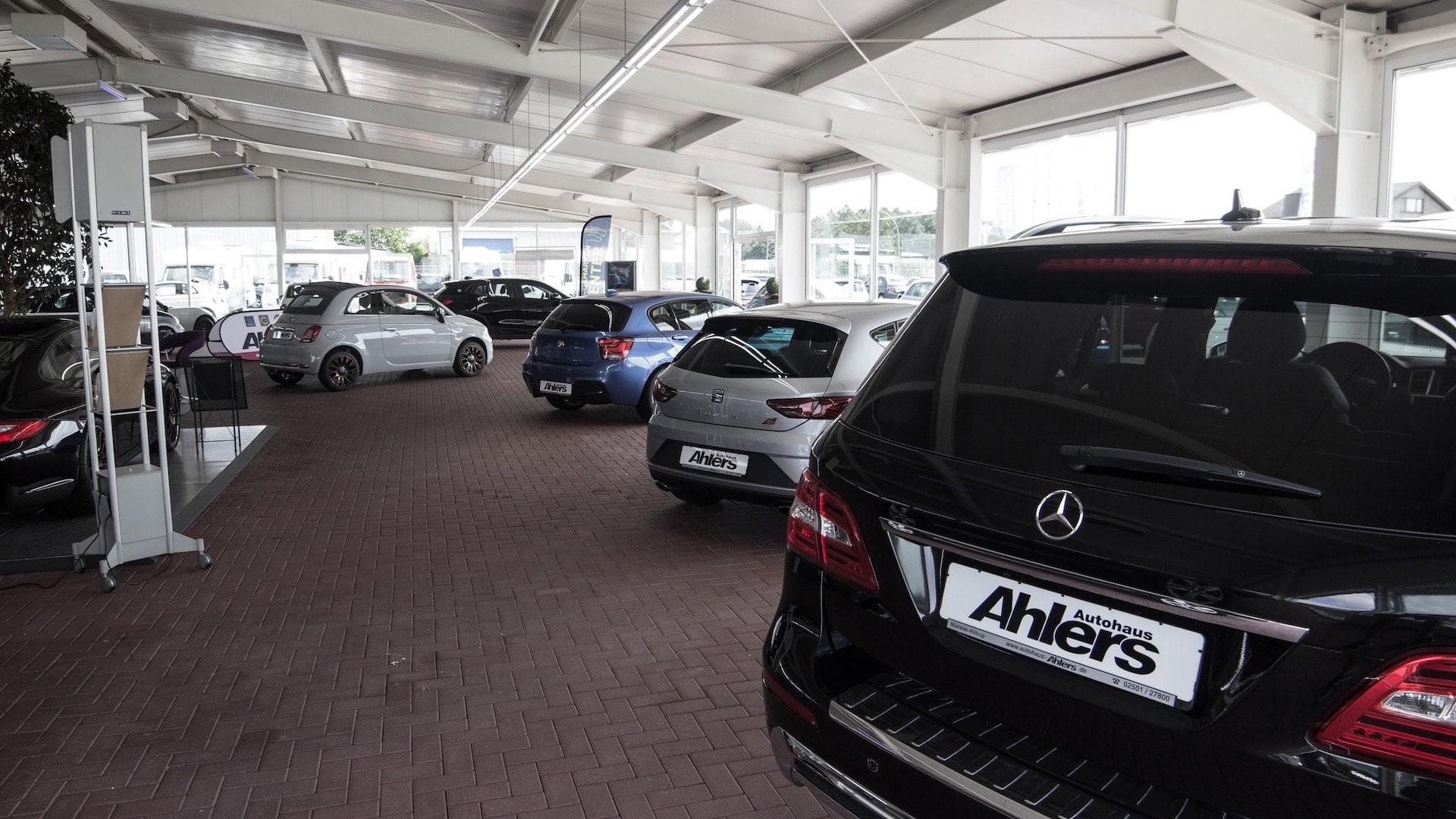 Autohaus Ahlers Fuhrpark Innen